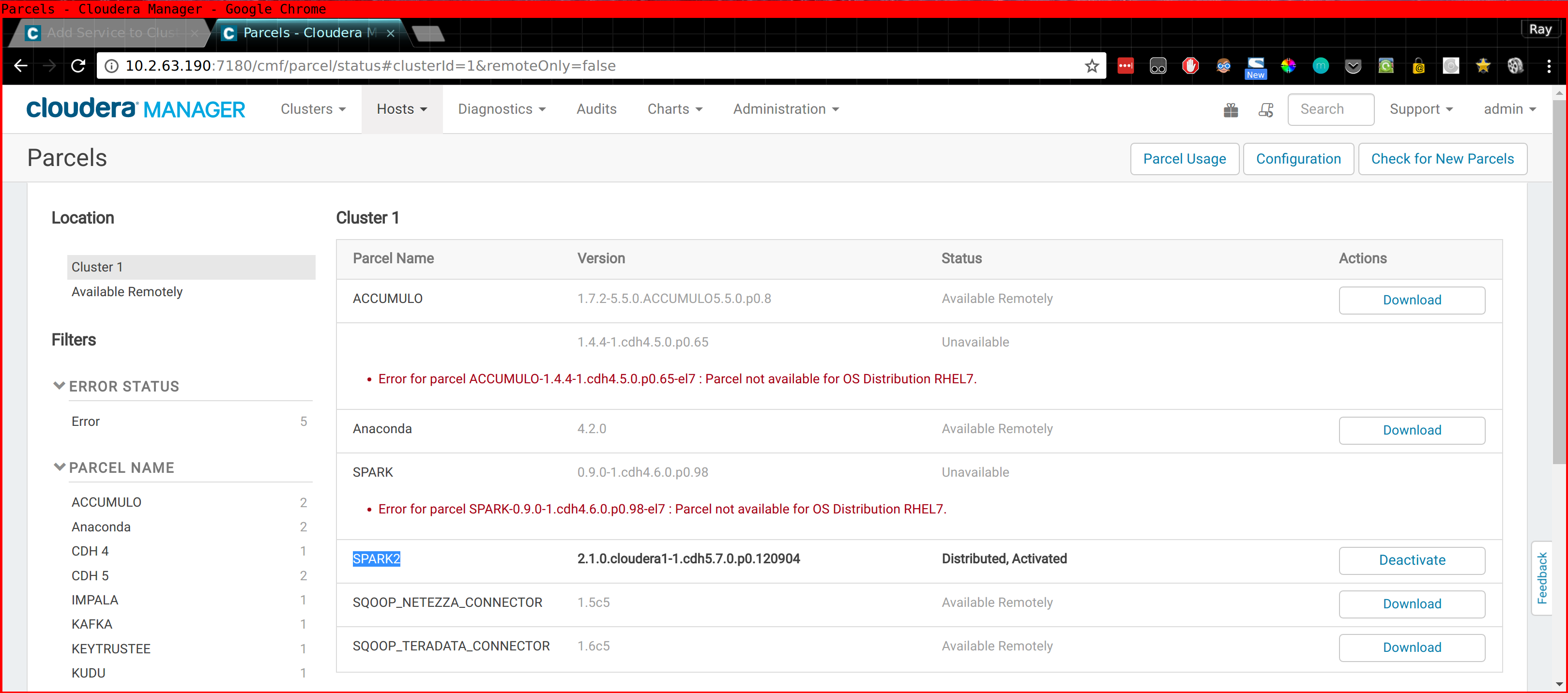 Setting up CDSW on Cloudera Manager